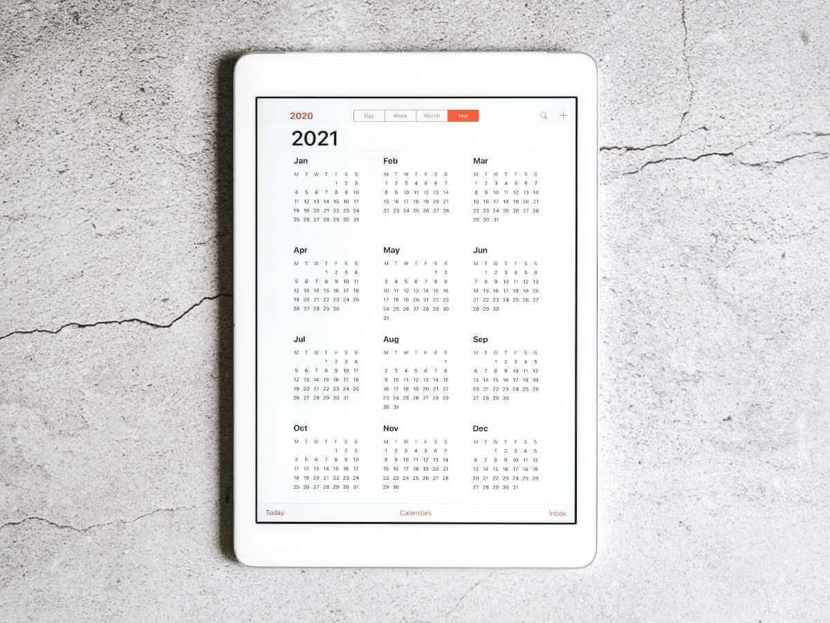 2021 calendar for superannuation payment dates