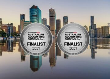 2021 Australian Accounting Awards finalist medals